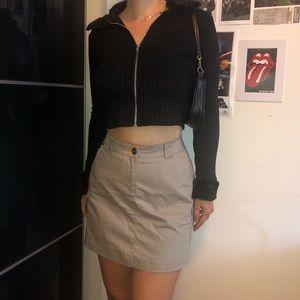 Vintage Nike high waisted cargo skirt
